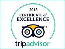 Trip Advisor Winner of Ecellence