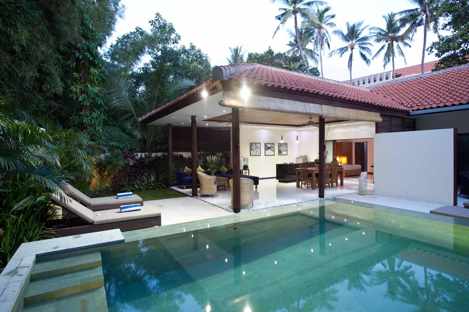 One bedroom pool villa for Seminyak villas 1 bedroom