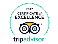 Trip Advisor Winner of Ecellence